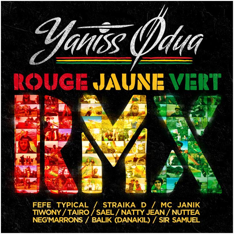 yaniss odua rouge jaune vert mp3
